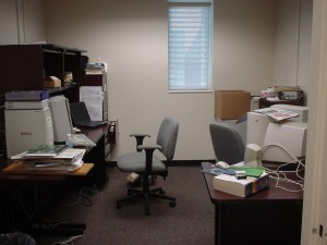Soma's office KLB 414 (Aug 2003)