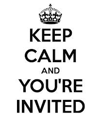 Keep calm-invited